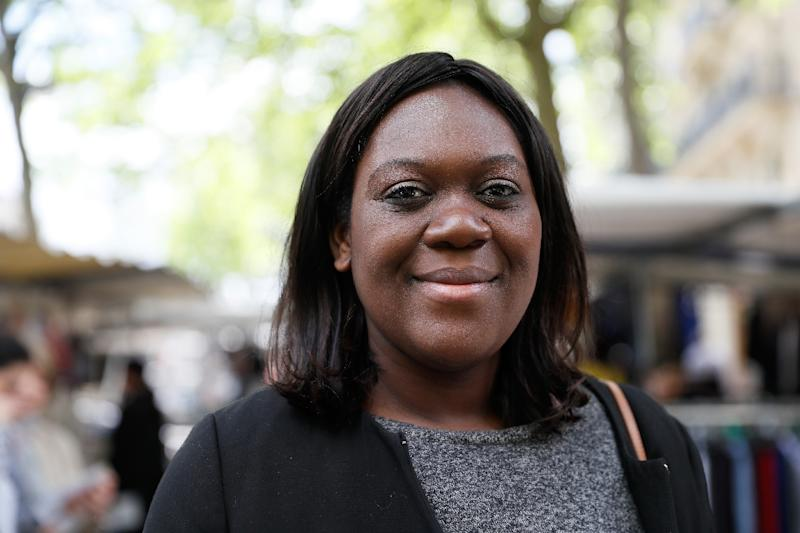 Laetitia Avia rose from humble beginnings in a family of Togolese immigrants to found her own legal practice and became one of the few French women of African origin to have ever won a parliamentary seat (AFP Photo/Thomas Samson)