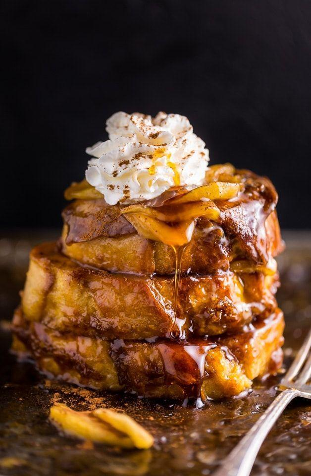 "<p>One whiff of this sweet and syrupy breakfast and your family will come <em>flying</em> into the kitchen.</p><p><strong>Get the recipe at <a href=""https://bakerbynature.com/apple-pie-french-toast/"" rel=""nofollow noopener"" target=""_blank"" data-ylk=""slk:Baker by Nature"" class=""link rapid-noclick-resp"">Baker by Nature</a>.</strong></p><p><a class=""link rapid-noclick-resp"" href=""https://www.amazon.com/Cuisinart-719-14-Classic-Stainless-Saucepan/dp/B00213JLY0/?tag=syn-yahoo-20&ascsubtag=%5Bartid%7C10050.g.650%5Bsrc%7Cyahoo-us"" rel=""nofollow noopener"" target=""_blank"" data-ylk=""slk:SHOP SAUCEPANS"">SHOP SAUCEPANS</a></p>"
