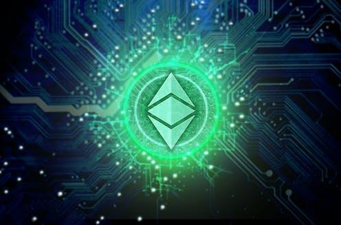 "<span class=""caption"">Welcome to web 3.0.</span> <span class=""attribution""><a class=""link rapid-noclick-resp"" href=""https://www.shutterstock.com/image-illustration/ethereum-classic-cryptocurrency-hologram-coin-form-728180302"" rel=""nofollow noopener"" target=""_blank"" data-ylk=""slk:Inked Pixels"">Inked Pixels</a></span>"