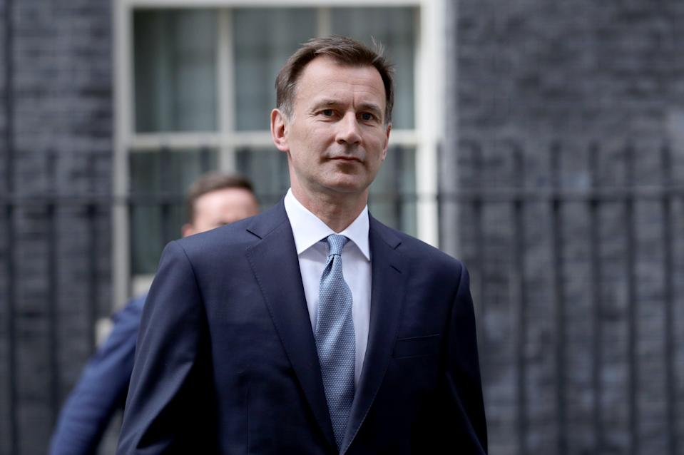 Jeremy Hunt has said social-distancing rules may need to be reimposed (Aaron Chown/PA) (PA Archive)