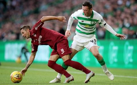 <span>Celtic fans singled out Callum McGregor for criticism</span> <span>Credit: PA </span>