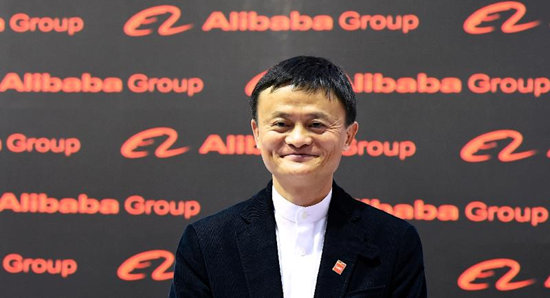 Alibaba said Ma will handover the reins to protege Daniel Zhang in September 2019 (AFP Photo/TOBIAS SCHWARZ)