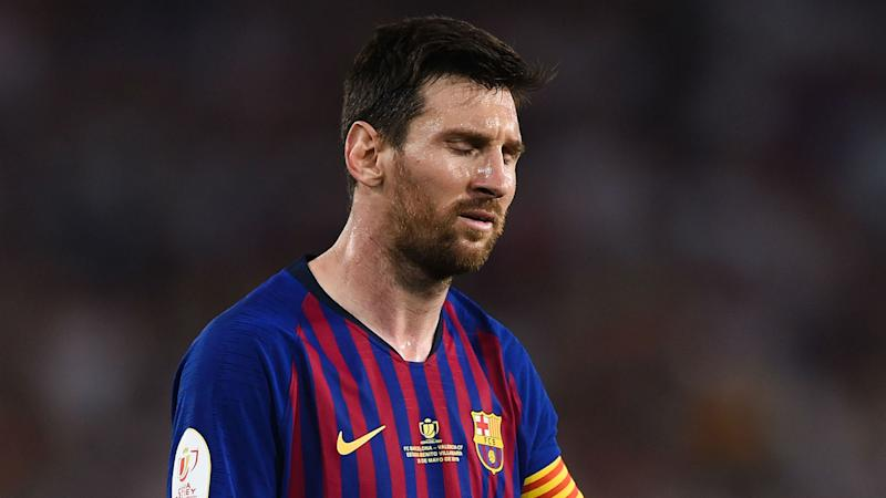 Messi out of Barcelona's La Liga opener with injury