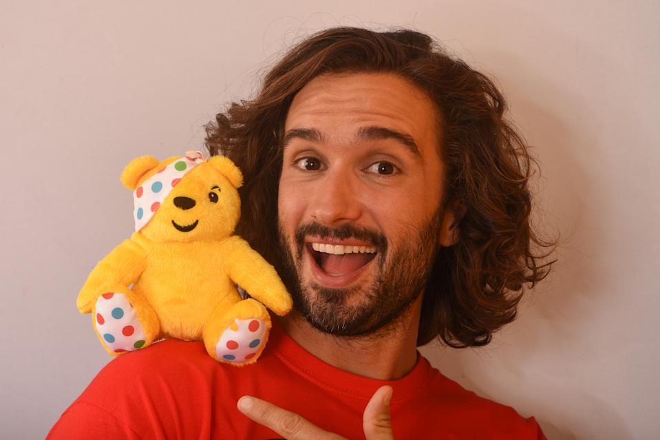 Joe Wicks backstage at BBC Children in Need's 2019 Appeal night at Elstree Studios on November 15, 2019 in Borehamwood, England. (Photo by Dave J Hogan/Getty Images)