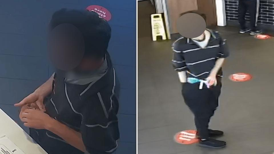 A 29-year-old man has handed himself into police, after he allegedly masturbated at a fast food restaurant in Victoria last month. Source: Victoria Police