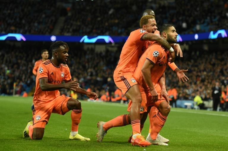 Manchester City failed to beat Lyon in two Champions League games last season