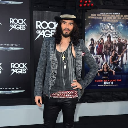 Russell Brand recalls awkward Cruise dinner
