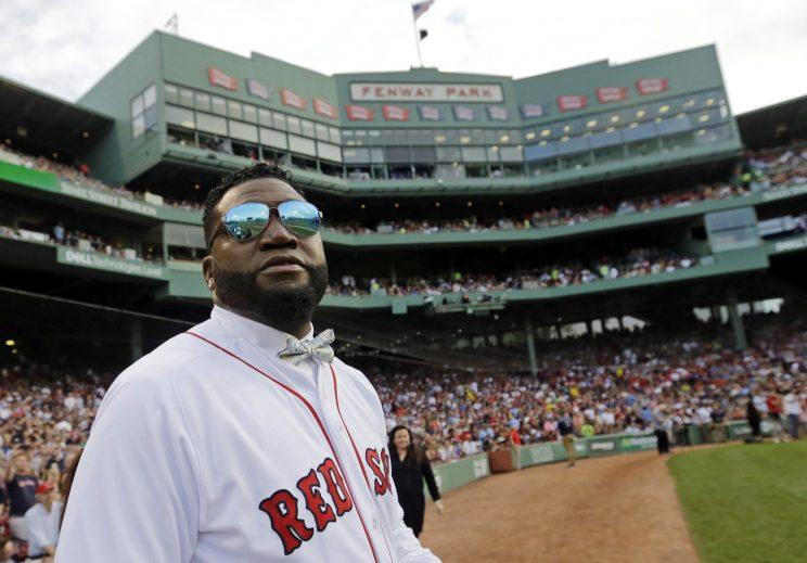 David Ortiz has a message for David Price. (AP Photo)