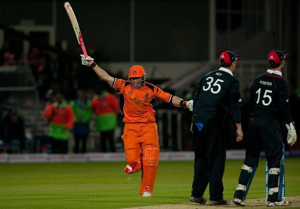 Holland beat England in memorable fashion during the ICC Men's T20 World Cup 2009 (Gareth Copley/PA) (PA Archive)