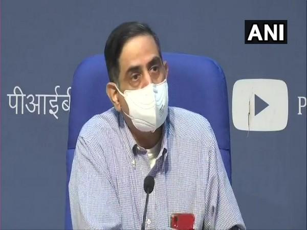 Dr Balram Bhargava, Director General of ICMR during a press conference in New Delhi on Tuesday. (Photo/ANI)