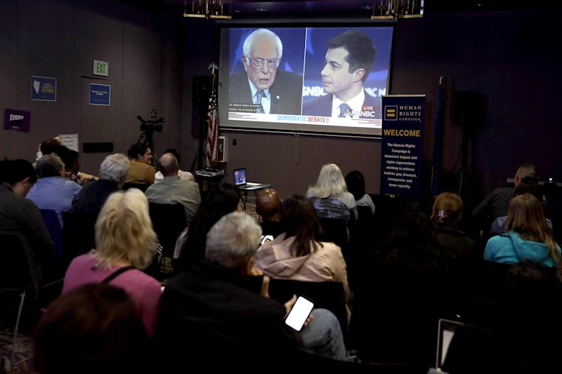 Image: Debate watch party in Las Vegas