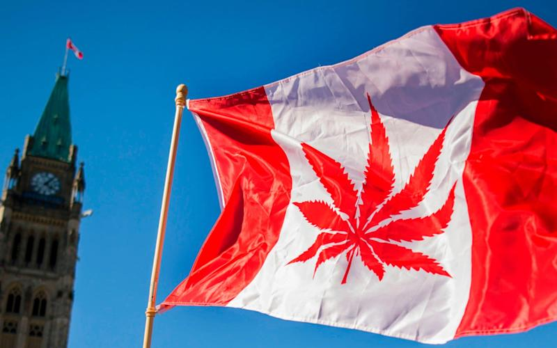 Canada became the second country after Uruguay to legalise so-called recreational marijuana on Wednesday - AFP