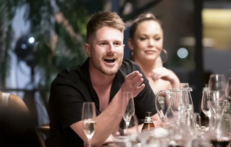 The show has recently kickstarted a lot of conversations around gaslighting thanks to Bryce Ruthven's behaviour towards 'wife' Melissa Rawson. Photo: Nine