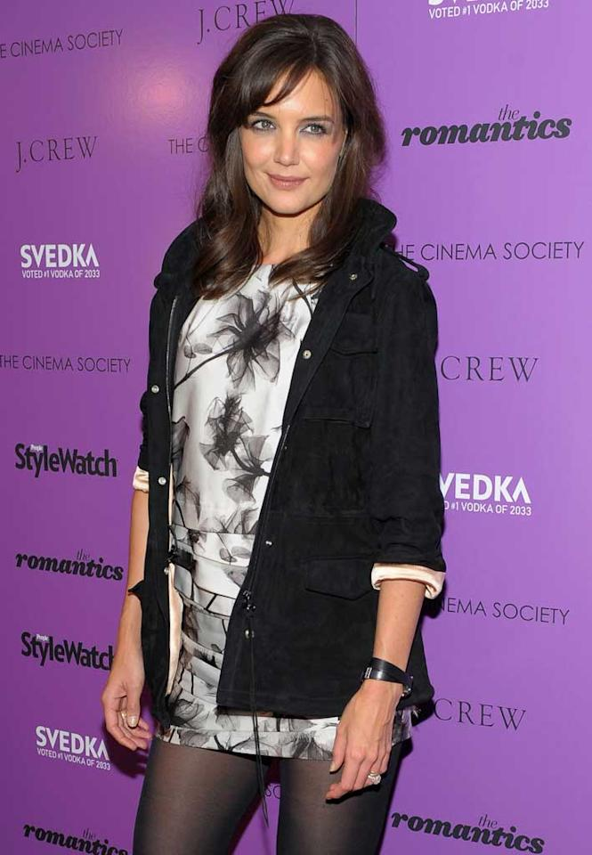 "December 18: Katie Holmes turns 32 Michael Loccisano/<a href=""http://www.gettyimages.com/"" target=""new"">GettyImages.com</a> - September 7, 2010"