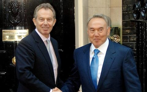 Tony Blair was paid to advise Mr Nazarbayev - Credit:  EDDIE MULHOLLAND