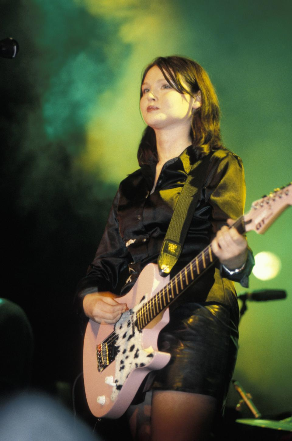 Sophie Ellis-Bexter, seen here performing as part of her first band Theaudience, said being dropped by her record label taught her not to fear failure  (Photo by Nicky J. Sims/Redferns)