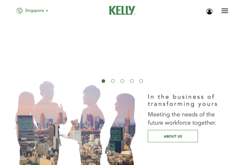 job agencies singapore kelly services