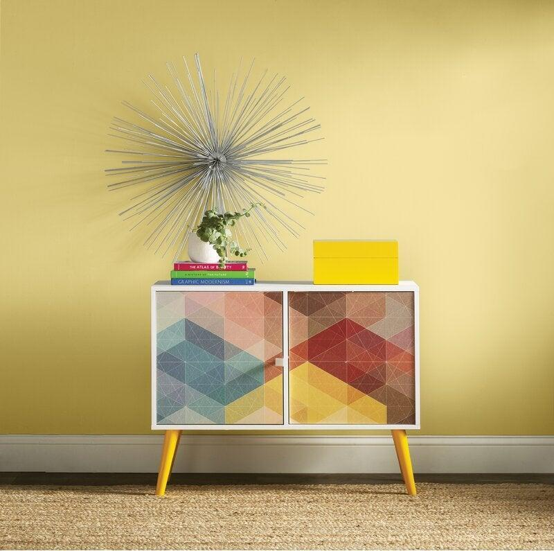 """<h2>Mercury Row Duffy 2 Door Accent Cabinet </h2><br><strong>Deal: 66% off</strong> <br>If your space needs a little razzle-dazzle, check out this colorful accent cabinet from Mercury Row. It may be a style risk, but we say go for it. Why? Because it's 66% off.<br><br><em>Shop</em> <strong><em><a href=""""https://www.wayfair.com/furniture/pdp/mercury-row-duffy-2-door-accent-cabinet-w004846724.html"""" rel=""""nofollow noopener"""" target=""""_blank"""" data-ylk=""""slk:Mercury Row"""" class=""""link rapid-noclick-resp"""">Mercury Row</a></em></strong><br><br><strong>Mercury Row</strong> Duffy 2 Door Accent Cabinet, $, available at <a href=""""https://go.skimresources.com/?id=30283X879131&url=https%3A%2F%2Fwww.wayfair.com%2Ffurniture%2Fpdp%2Fmercury-row-duffy-2-door-accent-cabinet-w004846724.html"""" rel=""""nofollow noopener"""" target=""""_blank"""" data-ylk=""""slk:Wayfair"""" class=""""link rapid-noclick-resp"""">Wayfair</a>"""