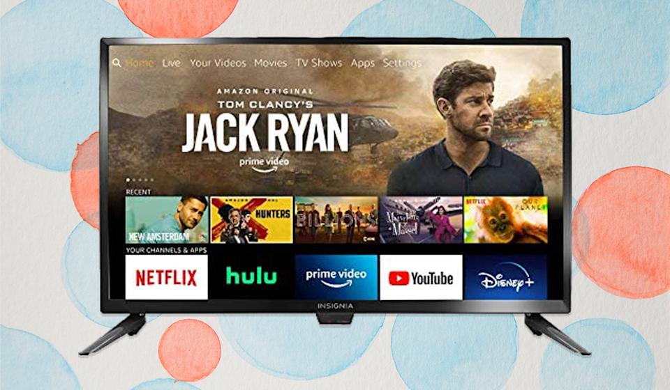 Only $110 for a Fire TV Edition! Finding something good to watch just got easier — and cheaper. (Photo: Amazon)