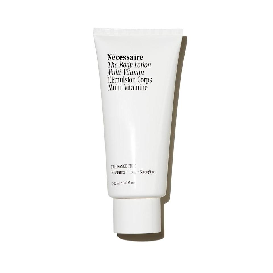 "<h3>Moisturize, <strong>Moisturize, Moisturize</strong></h3> <br>Just like your elbows, knees, and hands, your feet need a little extra TLC — especially in the summer when you're wearing sandals and they're fully exposed. <a href=""https://www.refinery29.com/en-us/best-foot-cream"" rel=""nofollow noopener"" target=""_blank"" data-ylk=""slk:Foot creams"" class=""link rapid-noclick-resp"">Foot creams</a> are great if you happen to have one, but Tuttle says your standard body lotion will work in a pinch. ""I sometimes use my Nécessaire body lotion on my feet if I don't have anything else,"" she says. ""It's un-fragranced and non-greasy — I love using the <a href=""https://necessaire.com/products/the-body-wash?variant=15142724665459"" rel=""nofollow noopener"" target=""_blank"" data-ylk=""slk:shower gel"" class=""link rapid-noclick-resp"">shower gel</a> on my feet, too.""<br><br><strong>Nécessaire</strong> Nécessaire The Body Lotion, $, available at <a href=""https://go.skimresources.com/?id=30283X879131&url=https%3A%2F%2Fshop.nordstrom.com%2Fs%2Fnecessaire-the-body-lotion%2F5247407"" rel=""nofollow noopener"" target=""_blank"" data-ylk=""slk:Nordstrom"" class=""link rapid-noclick-resp"">Nordstrom</a><br>"