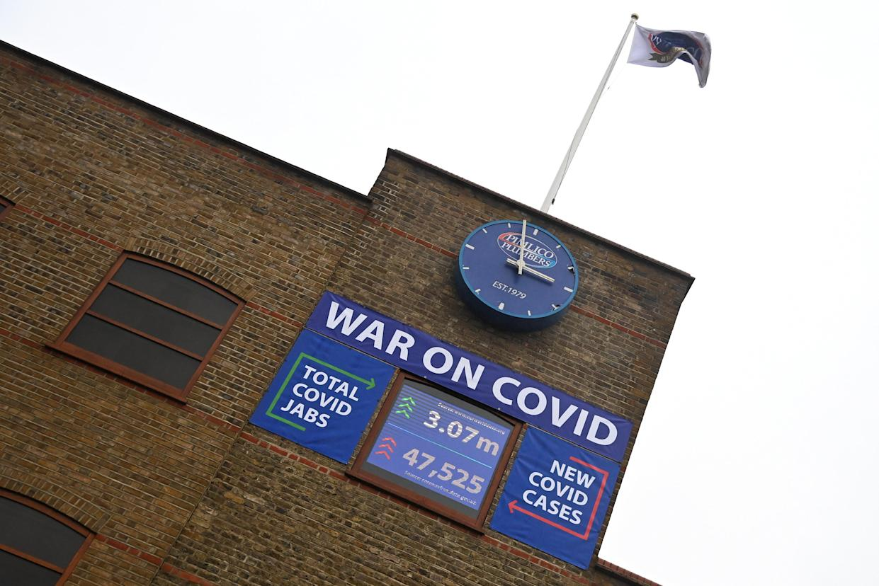 A general view of the headquarters of Pimlico Plumbers, who have stated that they will require new hires to be vaccinated against COVID-19, as the spread of the coronavirus disease (COVID-19) continues, in London, Britain January 14, 2021. REUTERS/Toby Melville