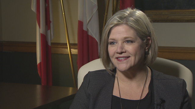 Andrea Horwath makes her pitch to voters 'tired of Kathleen Wynne'