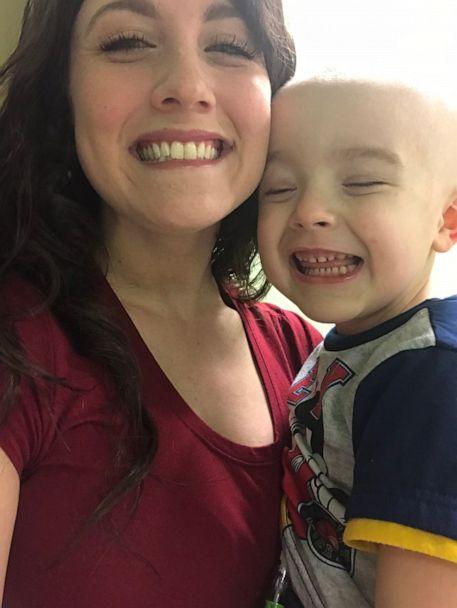 PHOTO: Xander's mom Melissa Bowman said that Xander was like a 'different child' after he received his first hearing aids. (Melissa Bowman)