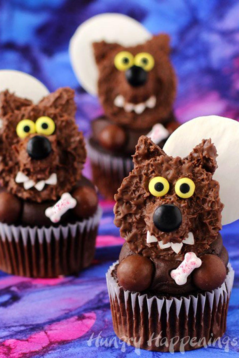 """<p>These adorably delicious treats will have your party guests howling for more!</p><p><strong>Get the recipe at <a href=""""http://hungryhappenings.com/2016/09/reeses-cup-werewolf-cupcakes.html/"""" rel=""""nofollow noopener"""" target=""""_blank"""" data-ylk=""""slk:Hungry Happenings"""" class=""""link rapid-noclick-resp"""">Hungry Happenings</a>. </strong></p>"""