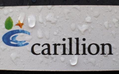 Carillion sign - Credit: Yui Mok/PA