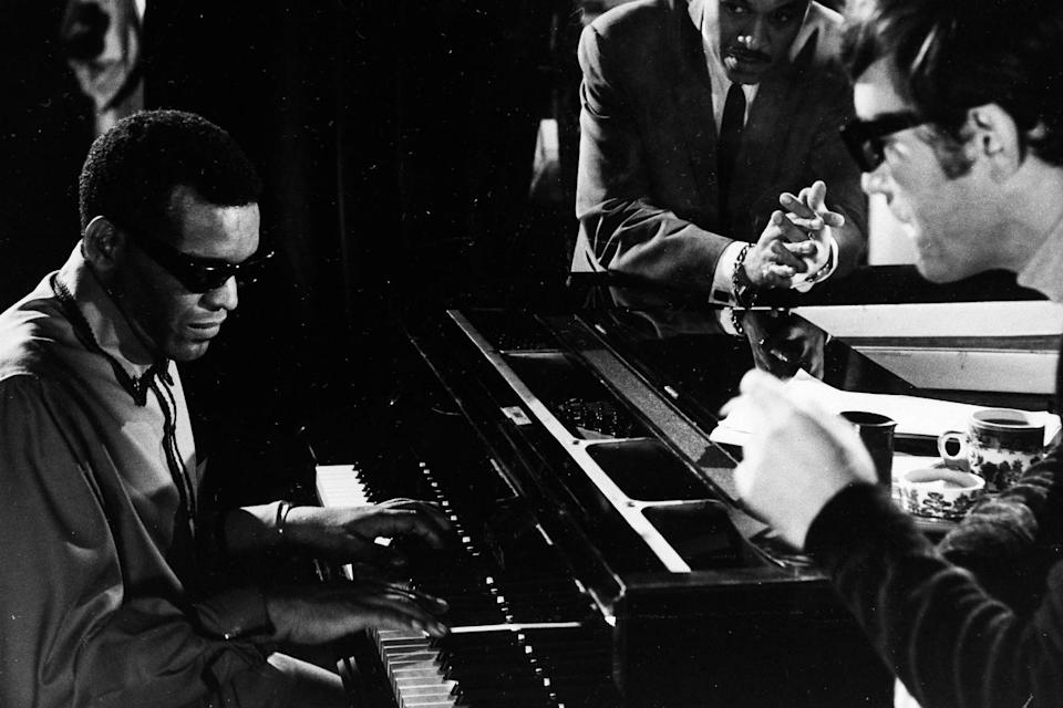 Ballad In Blue Ray Charles 1964 - Credit: AP