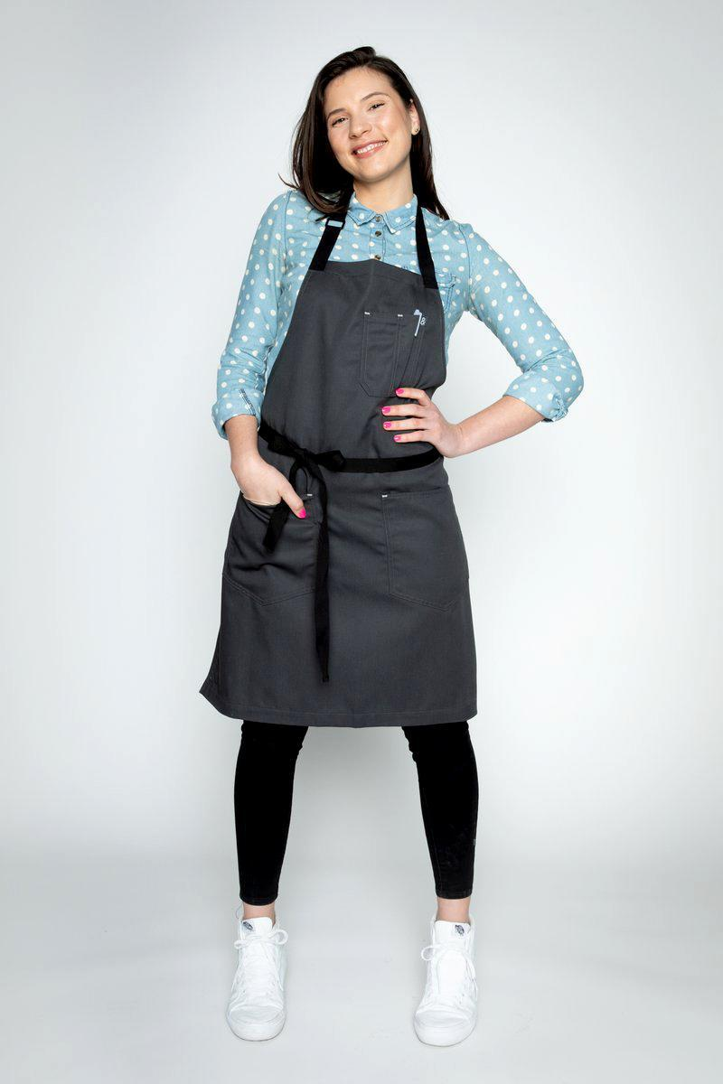 """<p>This handy apron provides <a href=""""https://www.marthastewart.com/1502498/storage-organization"""" rel=""""nofollow noopener"""" target=""""_blank"""" data-ylk=""""slk:ample storage opportunity"""" class=""""link rapid-noclick-resp"""">ample storage opportunity</a>. It comes with multiple pockets, including ones for your cell phone and writing pens, as well as utility loops for hanging tongs, towels, and other cooking tools on the fly. The brand is also a <em>Living </em>test kitchen favorite.</p> <p><strong><em>Shop Now: </em></strong><em>Hedley & Bennett Char Classic Apron, $79, </em><a href=""""https://www.hedleyandbennett.com/collections/all-aprons/products/char-classic-apron"""" rel=""""nofollow noopener"""" target=""""_blank"""" data-ylk=""""slk:hedleyandbennett.com"""" class=""""link rapid-noclick-resp""""><em>hedleyandbennett.com</em></a><em>.</em></p>"""