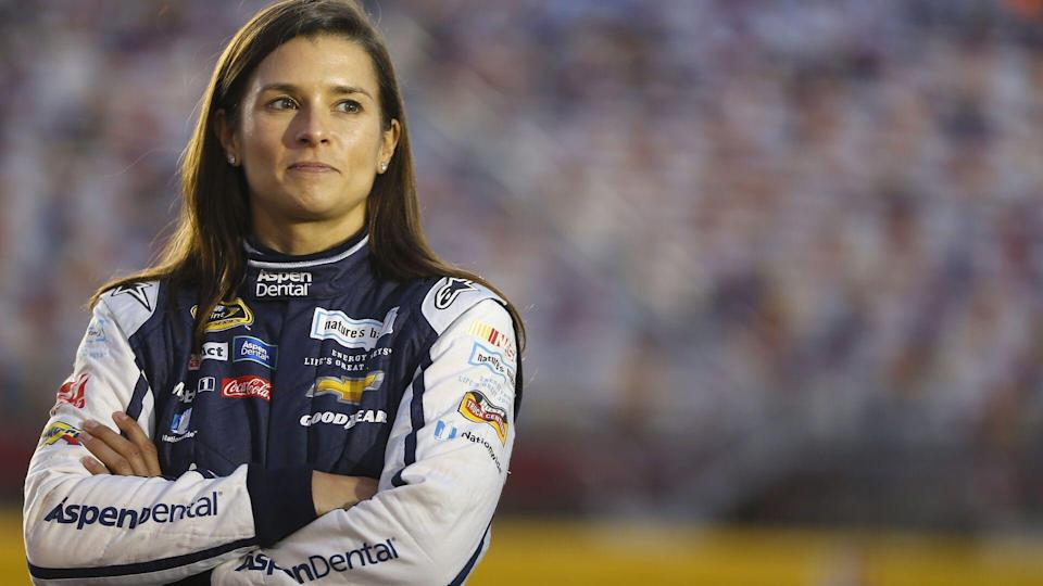Oct 06, 2016: Danica Patrick (10) waits to qualify for the Bank of America 500 at the Charlotte Motor Speedway in Concord, NC.