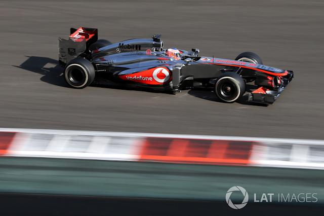 "Jenson Button - 22 GP liderados <span class=""copyright"">Sutton Motorsport Images</span>"