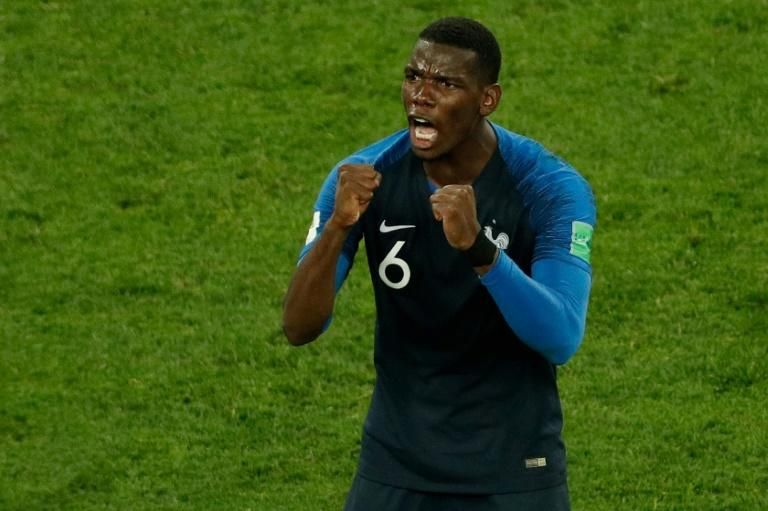 Paul Pogba has done his share of defending to help France to the World Cup final