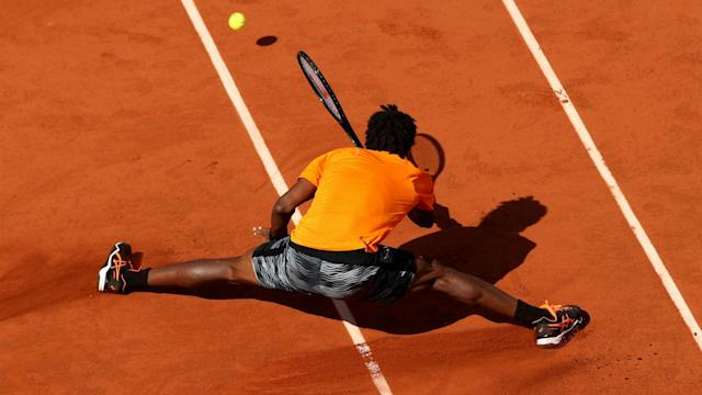 Gael Monfils showcased more of his trademark agility on day nine at Roland Garros, while Petra Martic has an alcoholic tipple in her sights.
