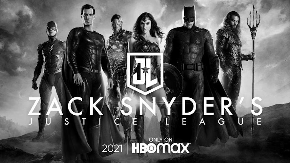 Artwork for Zack Snyder's Justice League. (WB/HBO Max)