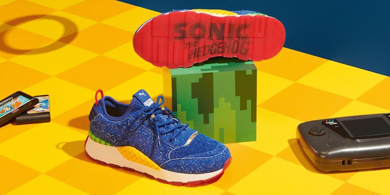 dcaf39bc6af2 Sonic the Hedgehog Is Puma s Latest Sneaker Muse
