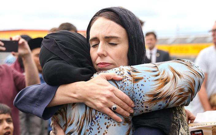 Prime Minister Jacinda Ardern was praised for her response to the attack - Hagen Hopkins/Getty Images
