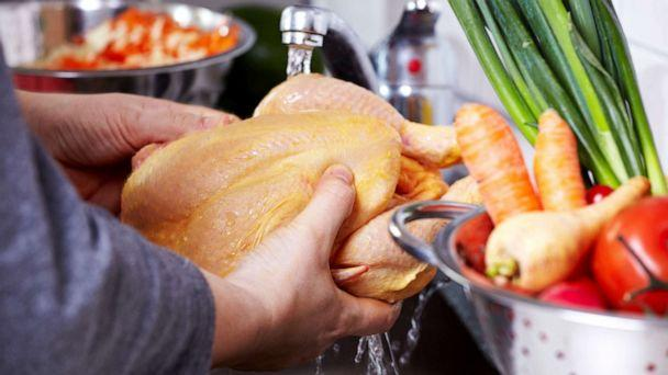 PHOTO: Chicken is prepared a dish in this undated stock photo. (STOCK PHOTO/Getty Images)