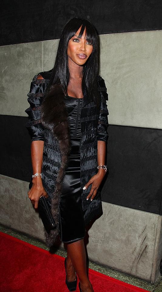 """Naomi Campbell was sued this week by a perfume maker that claims she owes the company millions for helping develop and promote her fragrances Cat Deluxe, Seductive Elixir, and Naomi Campbell. A rep for the British supermodel denied the charges. Mike Coppola/<a href=""""http://www.filmmagic.com/"""" target=""""new"""">FilmMagic.com</a> - October 24, 2009"""
