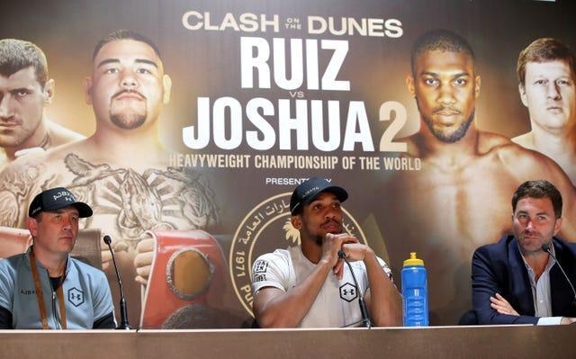 Anthony Joshua's rematch against Andy Ruiz Jr was also staged in Saudi Arabia