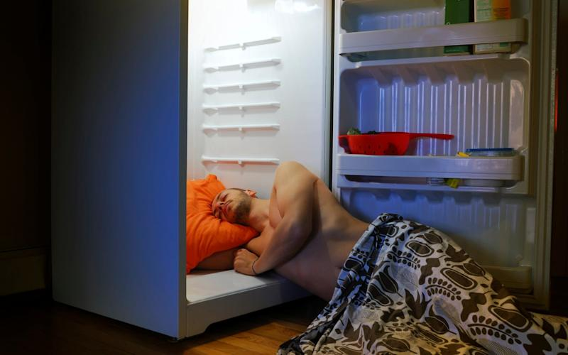 Keeping a cool head: sleep can be hard to come by during hot summer nights - E+