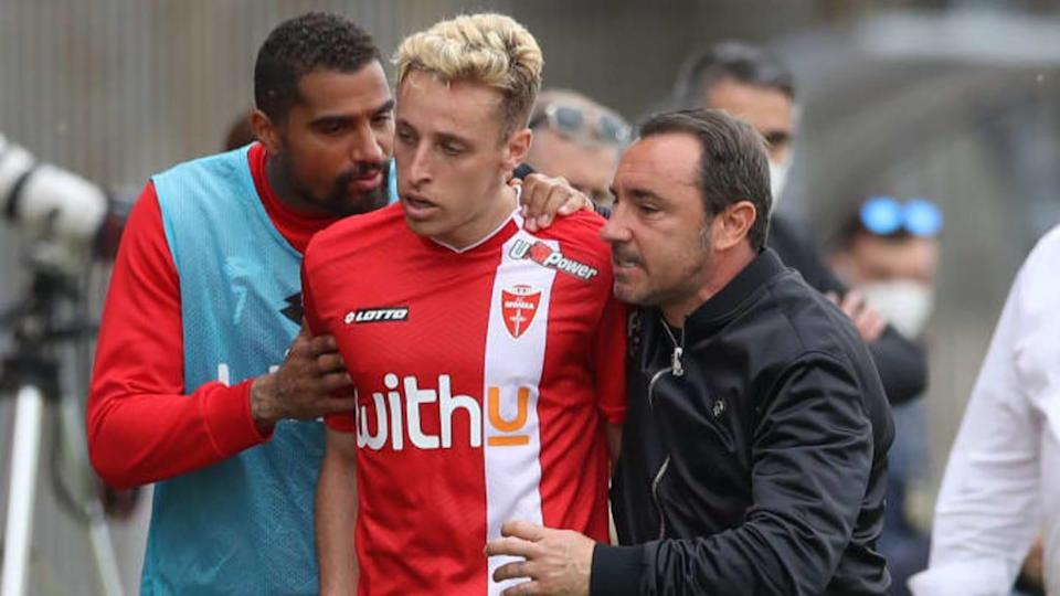 Brocchi, Frattesi e Boateng   Jonathan Moscrop/Getty Images
