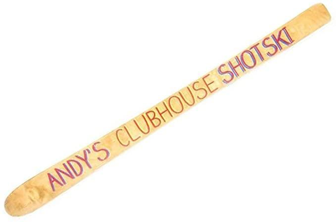 <p><span>Andy's Clubhouse Drinking Ski</span> ($155) is for the <b>Watch What Happens Live</b> mega-fan.</p>