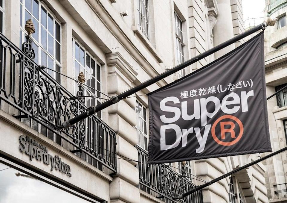 Superdry has reported shrinking losses and said sales are recovering well (Ian West/PA) (PA Archive)