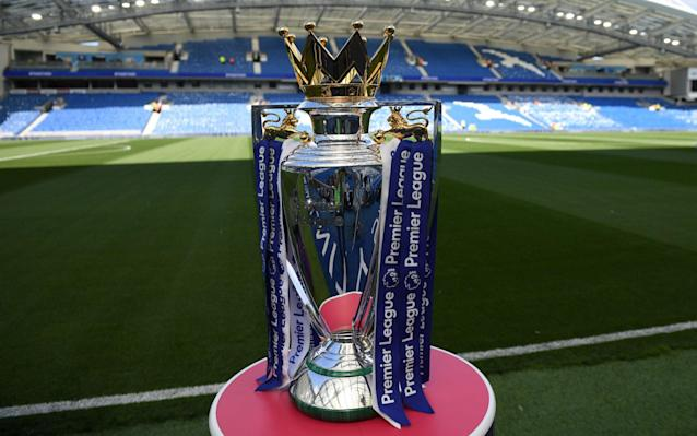 Premier League trophy - Premier League vote on 'Project Restart' could be pushed back until after captains and managers have held their own talks - GETTY IMAGES