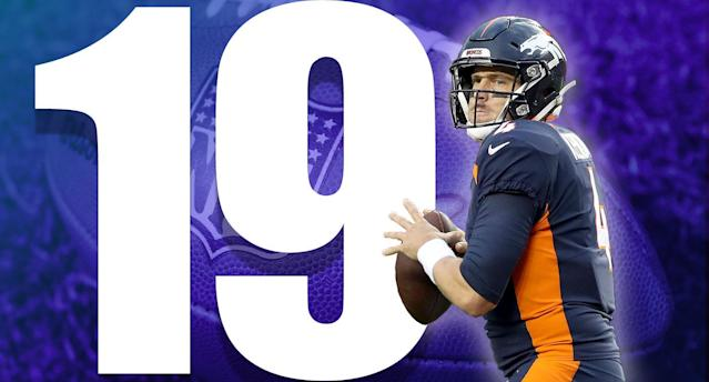 <p>Denver is not a patient place when it comes to quarterbacks, and Case Keenum isn't off to a wonderful start. (Case Keenum) </p>