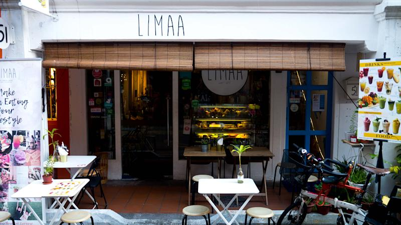 Limaa's storefront. (PHOTO: Zat Astha/Yahoo Lifestyle Singapore)
