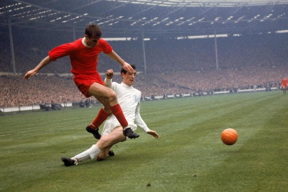 Roger Hunt is second on Liverpool's all-time goalscoring list, his tally of 285 including the opener in the 1965 FA Cup final win against Leeds  (PA Archive)
