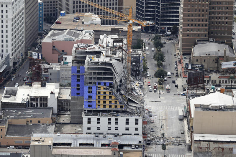 Hotel Collapse Remains Recovered